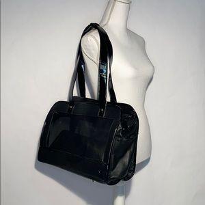 "Black PetCarrying Bag/purse - 16""x10""x6.5"" new"